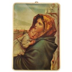 Large Madonna of the Streets Wall Plaque