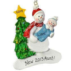 New Aunt Snowlady Ornament