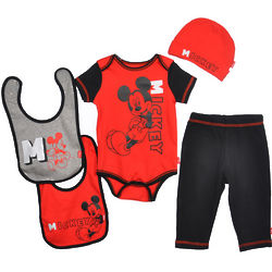 Mickey Mouse Good to Go Layette Gift Set