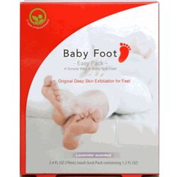 Skin Exfoliating Peel for Feet