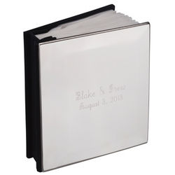 Engraved Nickel Cover Album