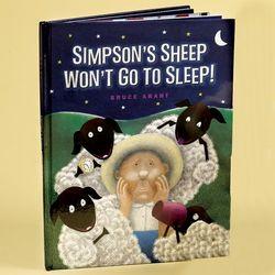 Simpson's Sheep Won't Go to Sleep! Children's Book