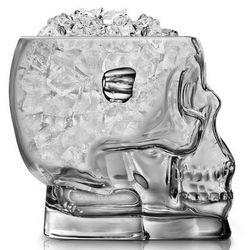 Skull of Doom Glass Ice Bucket