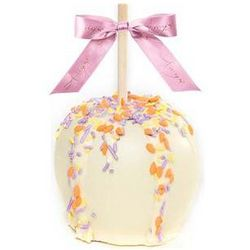 Easter White Chocolate Dunked Caramel Apples