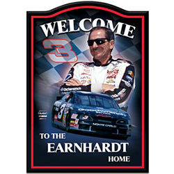 Dale Earnhardt Sr. Family Home Personalized Welcome Sign