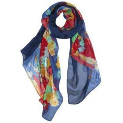 Digital Flower Printed Scarf