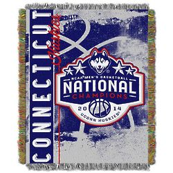 NCAA 2014 Champs UConn Tapestry Throw Blanket