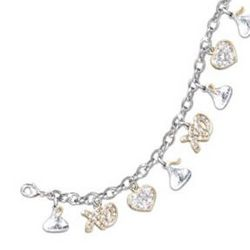 Hershey's Kisses Chocolate Lover Charm Bracelet