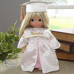 Personalized Precious Moments® Graduation Doll - Blonde