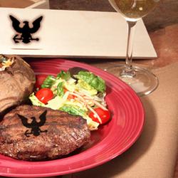 Navy Steak Brander Gift Set