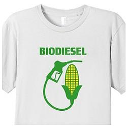 Biodiesel Corn to Fuel Fine Cotton T-Shirt