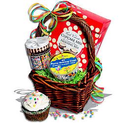 Cupcake Time™ Gift Basket Stack