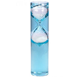 Newton's 3 Minute Liquid Gravity Glass in Blue