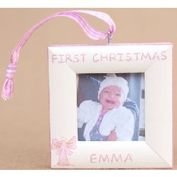 First Christmas Angel Ornament