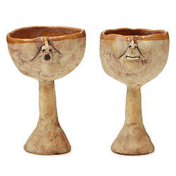 His and Her Goblets