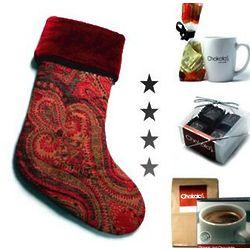 Christmas Stocking with Chocolate Goodies