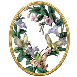 Whispering Wings Floral Wall Decor