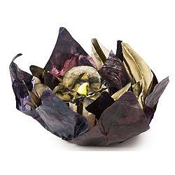 Vegetable Parchment Tealight Blooms