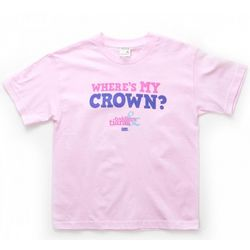 Toddlers & Tiaras Where's My Crown Youth T-Shirt