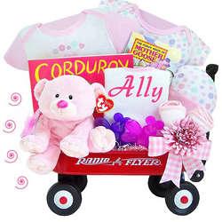 Thank Heaven for Little Girls Radio Flyer Wagon Gift Set
