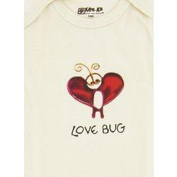 Lovebug Organic Cotton Long Sleeve BodySuit