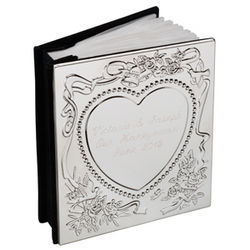 Engraved Sweetheart Photo Album