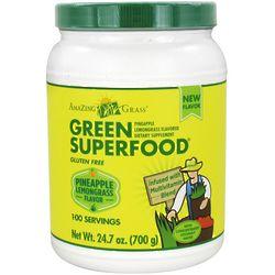 Pineapple Lemongrass Green Superfood Drink Powder