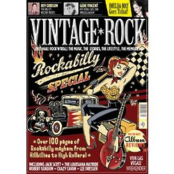Vintage Rock Magazine Subscription 6 Issues Four Times a Year