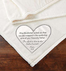 The Lord is Close Verse Throw Blanket