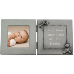 Personalized Engraved Baby Photo Frame