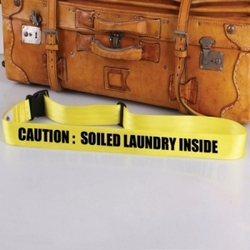 'Soiled Laundry' Bag Tag