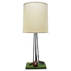 Golf Clubs Lamp