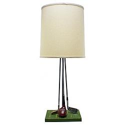 Golf Clubs Lamp