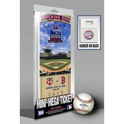 Minnesota Twins Target Field Inaugural Game Mini-Mega Ticket