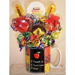 Teacher's Back to School Celebration Mini Lollipop Bouquet