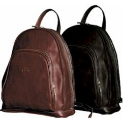 Monza Zip-Around Italian Leather Backpack