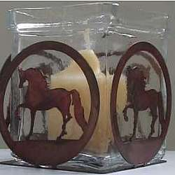 Standing Horse Candle Holder