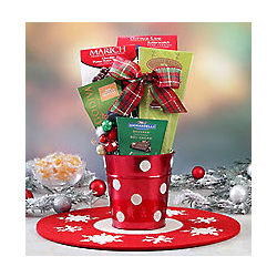 Holiday Chocolate and Candy Assortment Tin