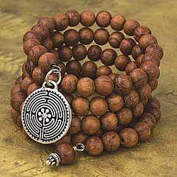 Labyrinth Wrap Bracelet