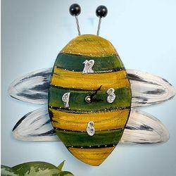 Handmade Bumblebee Wall Clock