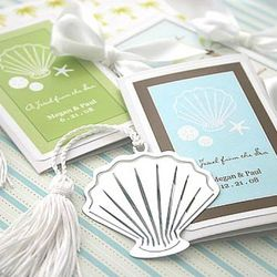 A Jewel From the Sea Seashell Bookmarks