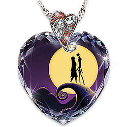 The Nightmare Before Christmas Heart Pendant