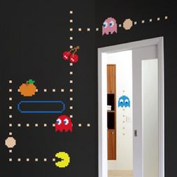 Pac-Man Wall Decals