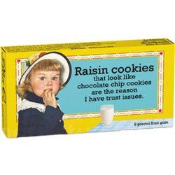Raisin Cookies Gum