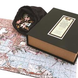 Personalized Heirloom Wooden Map Puzzle