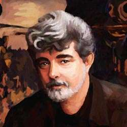 George Lucas Oil Painting Giclee