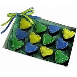 Heart Brownie Bites Gift Box