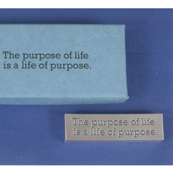 Purpose of Life Paperweight