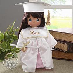 Personalized Precious Moments® Graduation Doll- Brunette