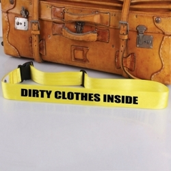 'Dirty Clothes' Bag Tag